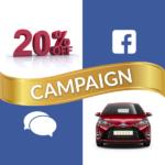 Get 20% Off! Social Media Campaign