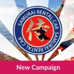 SAMURAI rent-a-car Campaign